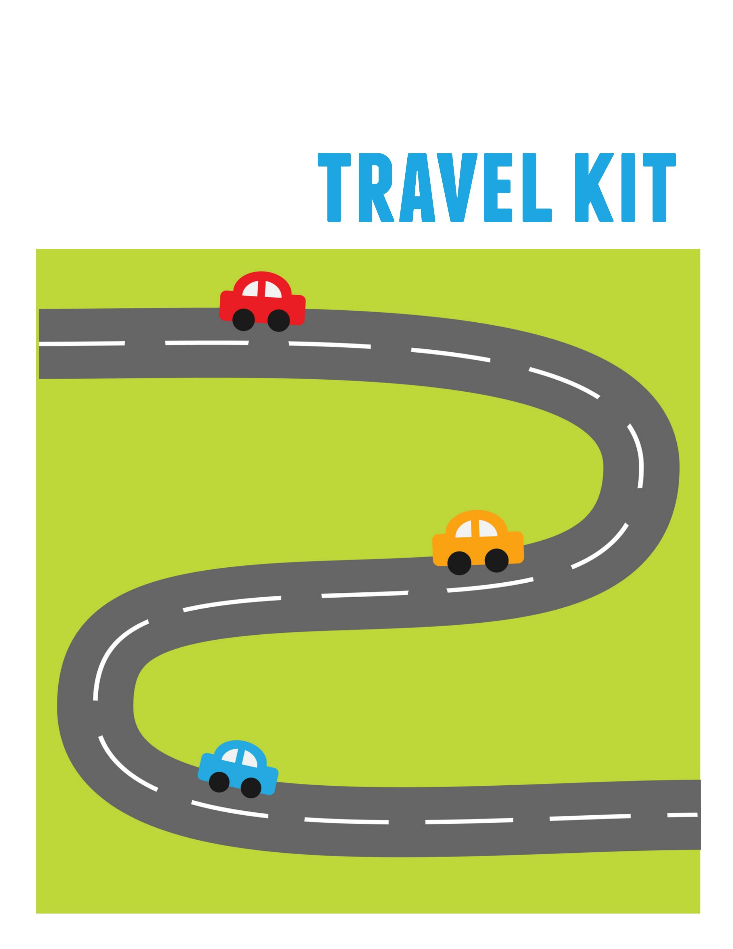 Diy Kids' Travel Binder + Free Printable Road Trip Games - Free Printable Car Ride Games