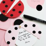 Diy: Ladybug Party Invitations (Free Printable Template) | Father En   Free Printable Ladybug Invitations