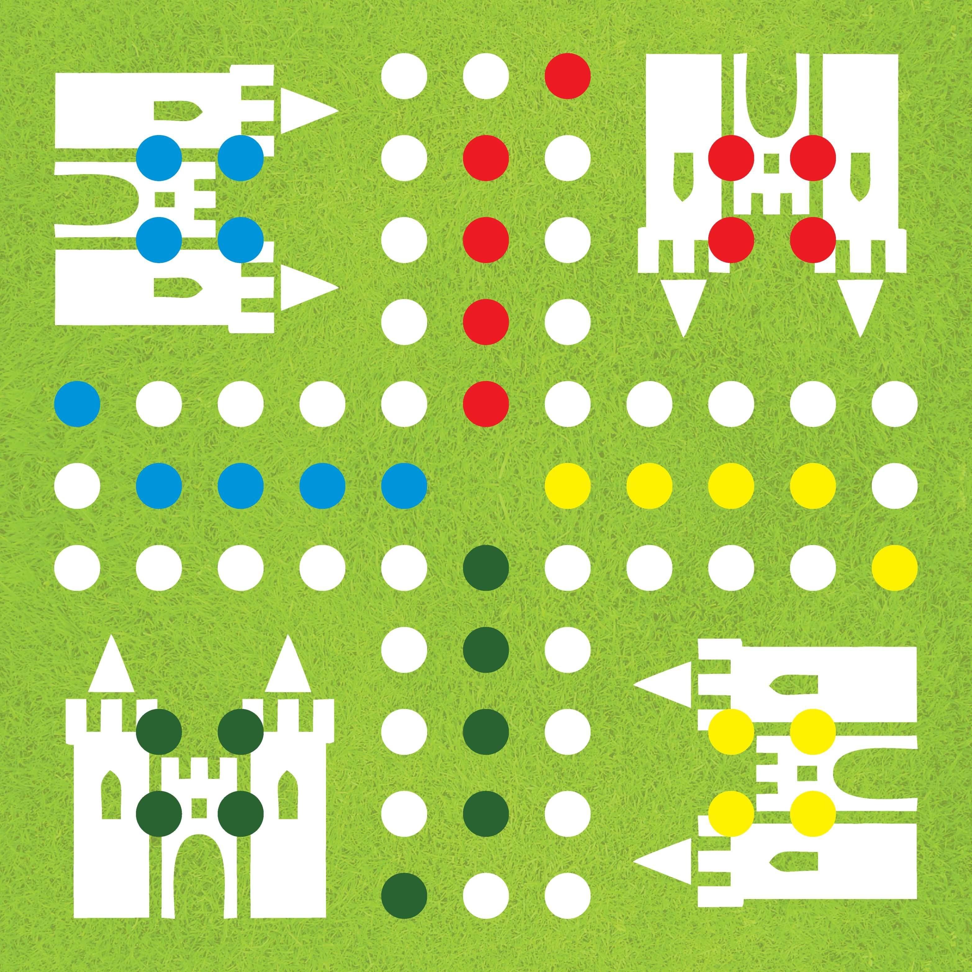 Diy-Ludo-Board-Game-Template -   Board Game   Társasjátékok, Játékok - Free Printable Ludo Board