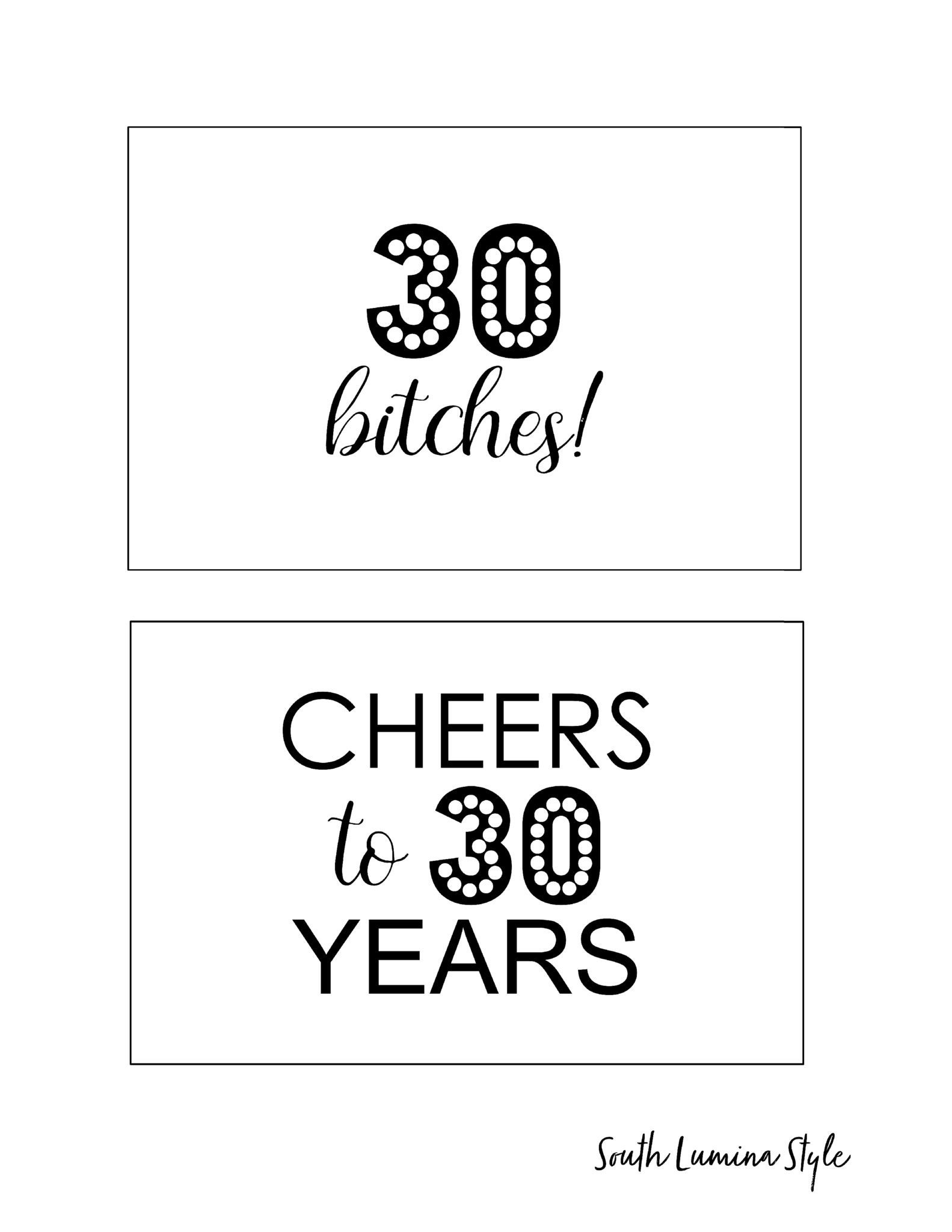 Diy Printable Adult Birthday Party Signs | Party Time | Diy Birthday - Free Printable Party Signs