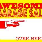 Diy Printable Awesome Garage Sale Signs   Free Printable Yard Sale Signs