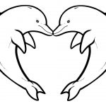Dolphins To Download   Dolphins Kids Coloring Pages   Dolphin Coloring Sheets Free Printable