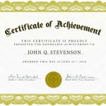 Download Blank Certificate Template X3Hr9Dto | St. Gabriel's Youth   Free Printable Blank Certificates Of Achievement