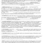 Download Free Basic Rental Agreement Or Residential Lease   Free Printable Basic Rental Agreement