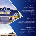 Download Free House For Sale Real Estate Flyer Design Templates   Free Printable Real Estate Flyer Templates