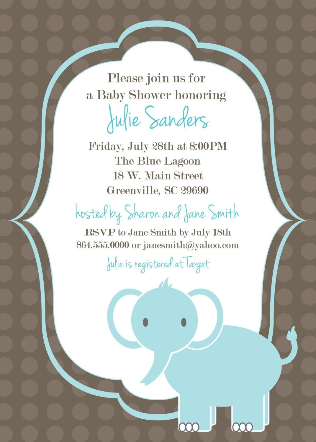 Download Free Template Got The Free Baby Shower Invitations - Free Baby Shower Invitation Maker Online Printable