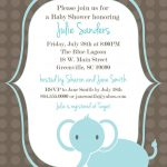 Download Free Template Got The Free Baby Shower Invitations   Free Printable Elephant Baby Shower Invitations