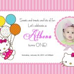Download Free Template Hello Kitty Printable Birthday Invitations   Hello Kitty Birthday Card Printable Free