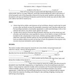 Download Texas Last Will And Testament Form | Pdf | Rtf | Word   Free Printable Wills
