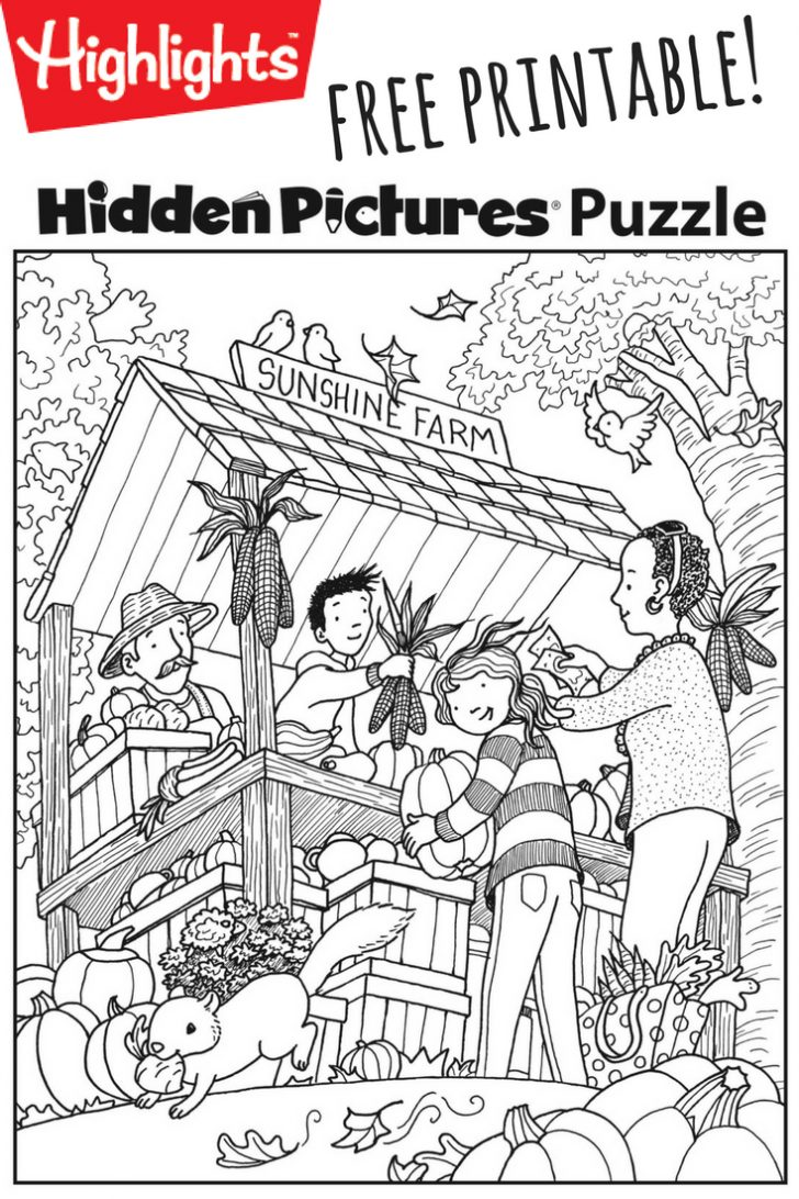 Free Printable Fall Hidden Pictures
