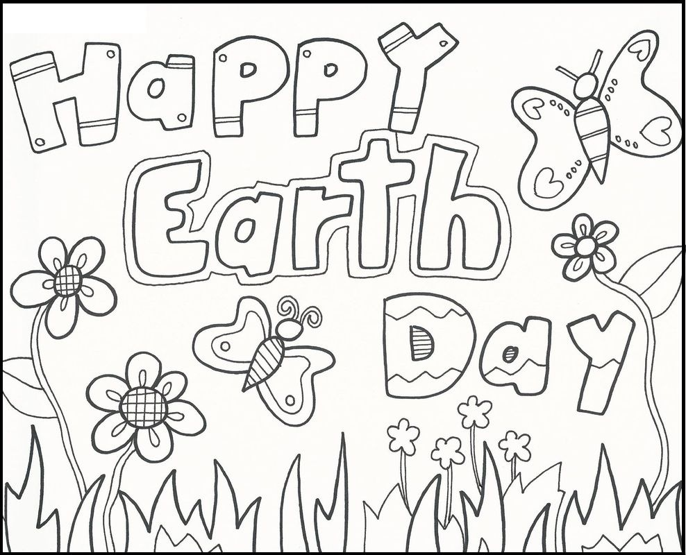 Earth Day Coloring Book At Kids Coloring Free Printable Coloring - Earth Coloring Pages Free Printable