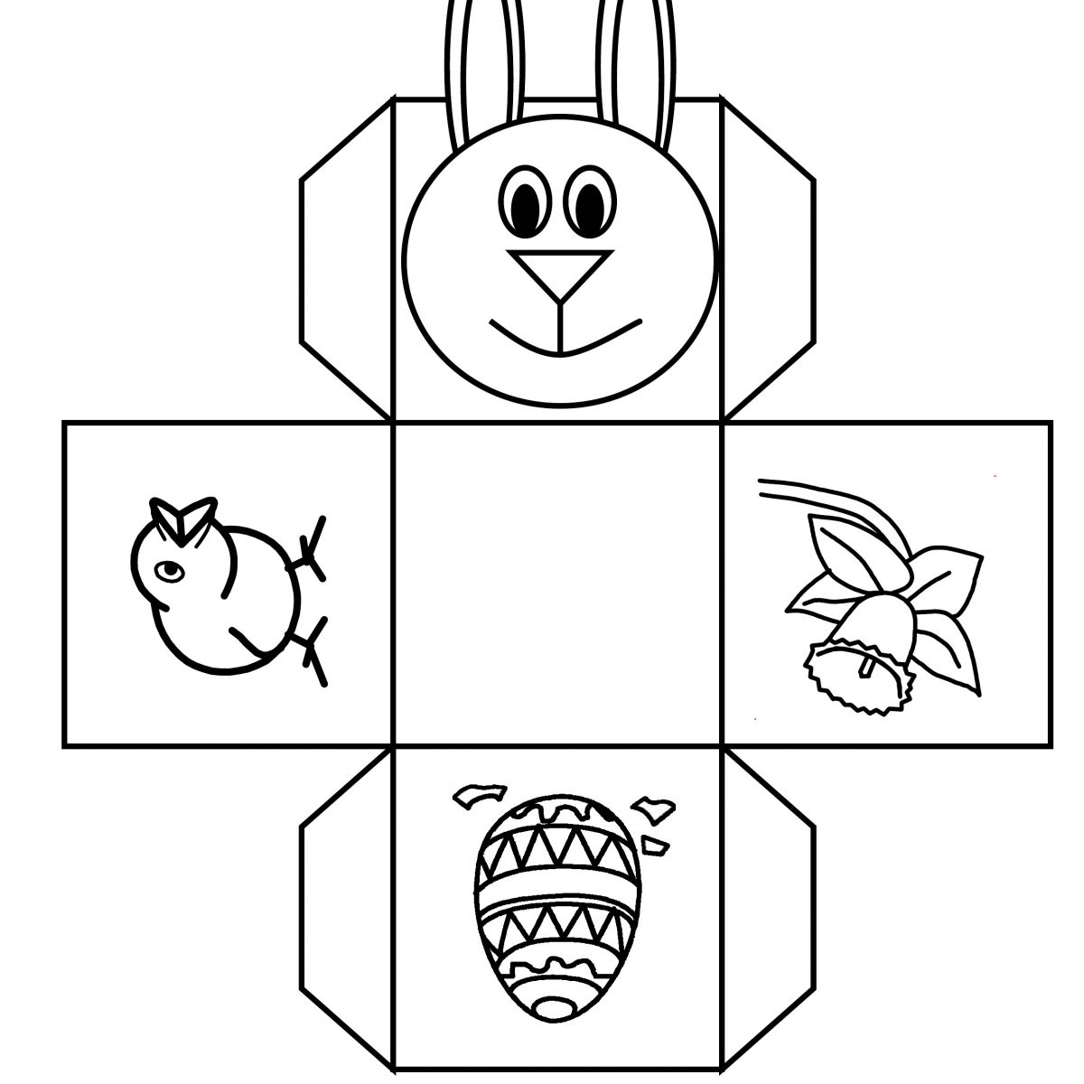 Easter Basket Templates To Print – Hd Easter Images - Free Printable Easter Egg Basket Templates