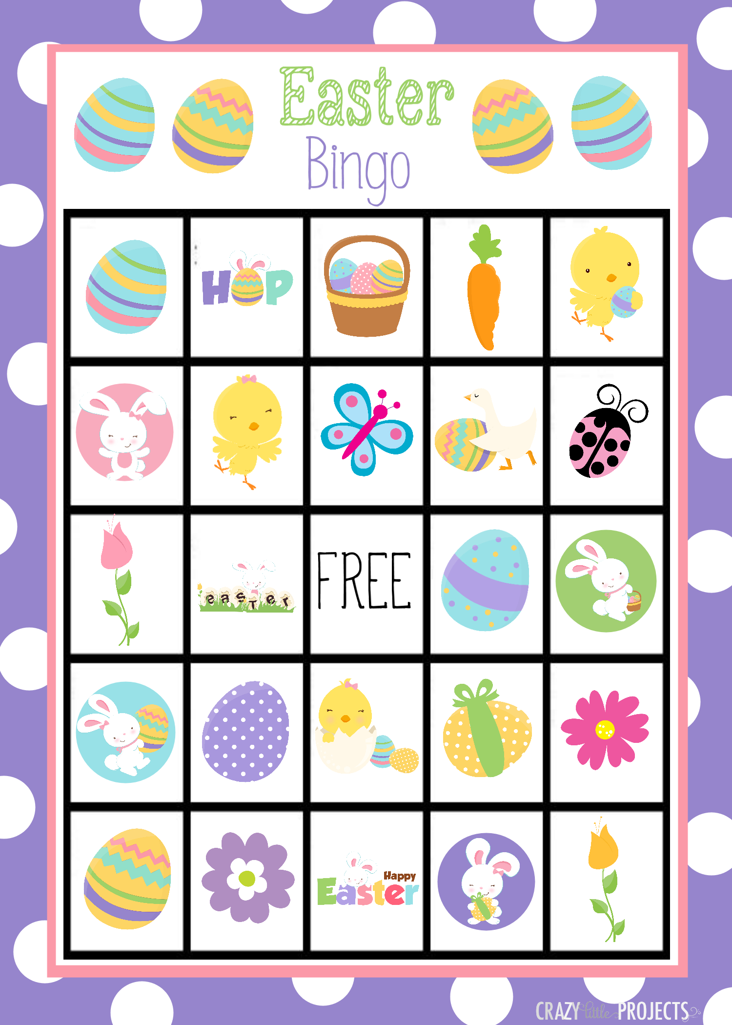 Easter Bingo Free Printable – Hd Easter Images - Free Printable Religious Easter Bingo Cards