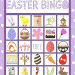 Easter Bingo Game For Kids   Children's Pastor Only   Easter Bingo   Free Printable Bible Bingo For Preschoolers