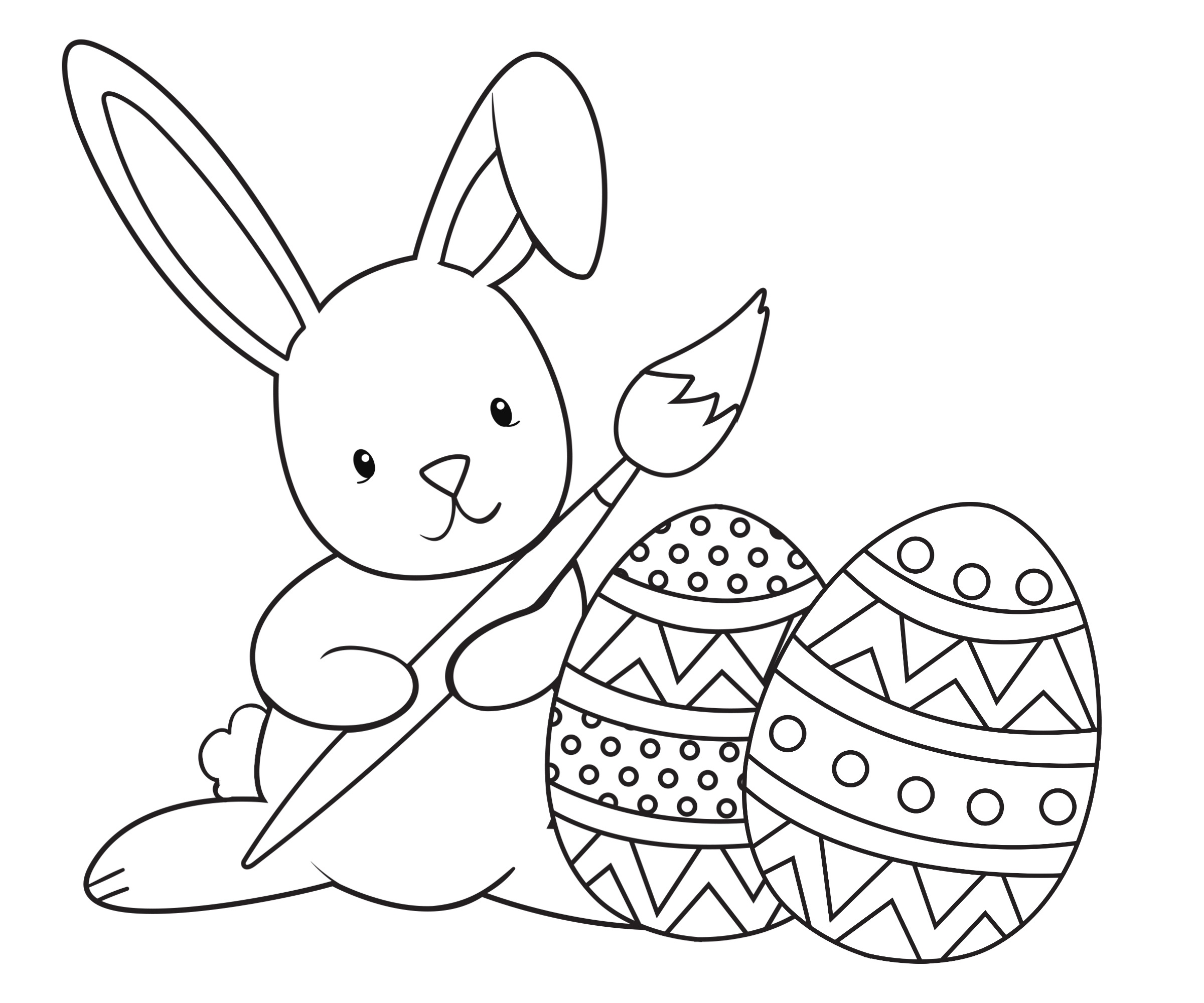 Easter Coloring Pages For Kids - Crazy Little Projects - Free Printable Easter Colouring Sheets