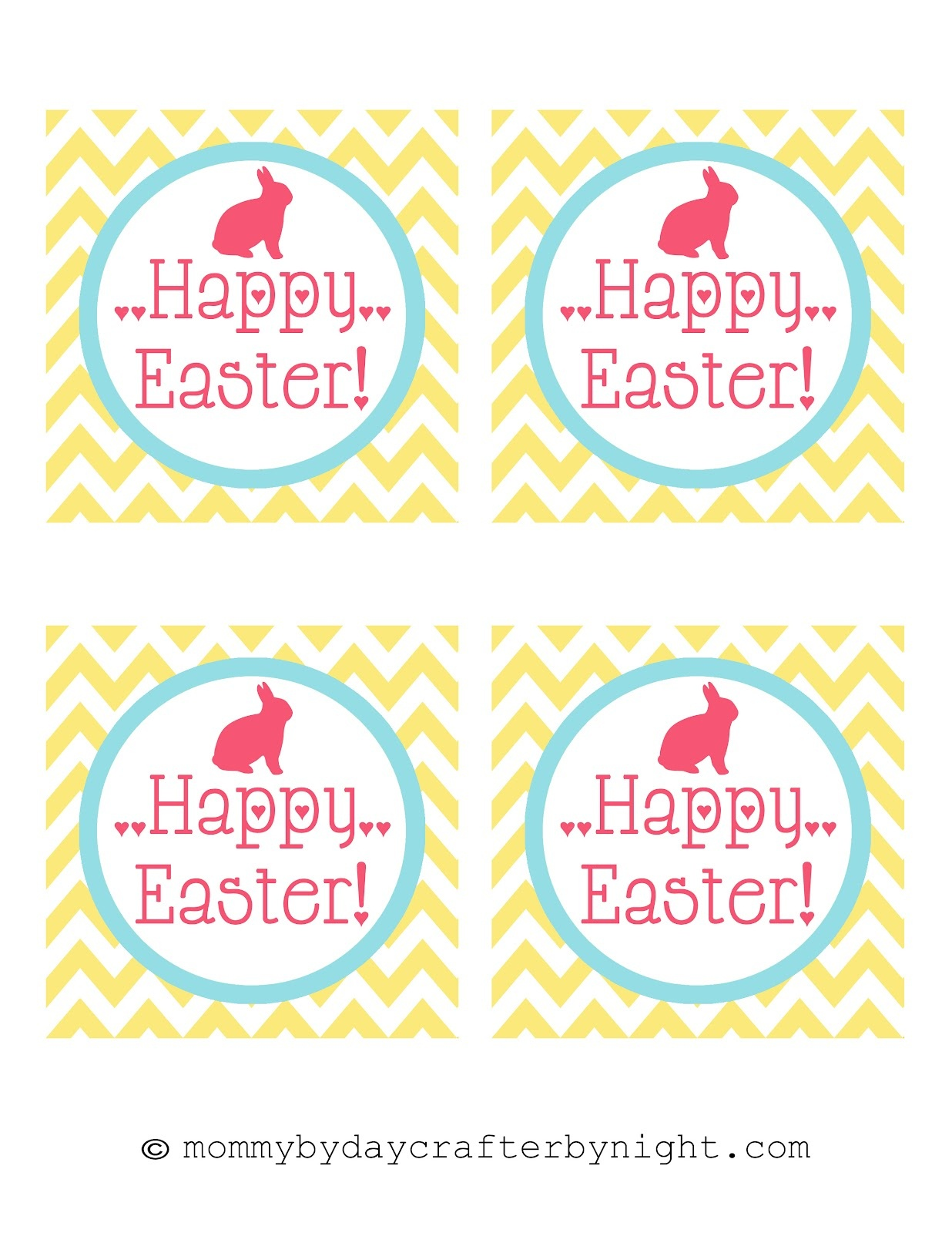 Easter Free Printable Tags – Happy Easter & Thanksgiving 2018 - Free Easter Name Tags Printable