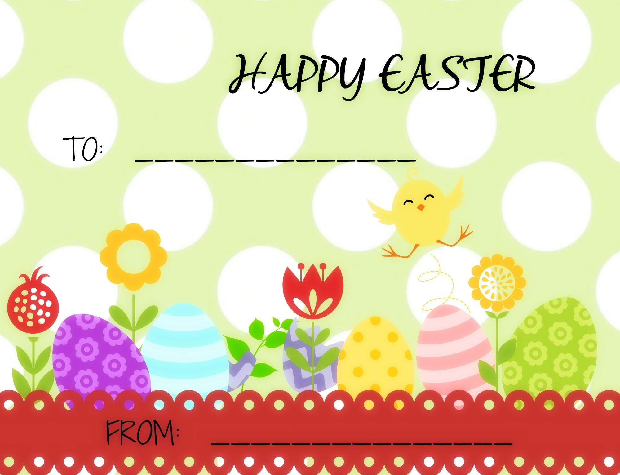 Easter Tags- Free Printable Tags For Gift Giving | Gully Creek Cottage - Free Easter Name Tags Printable