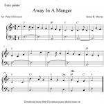 Easy Piano Arrangementpeter Edvinsson Of The Christmas Carol   Free Christmas Piano Sheet Music For Beginners Printable