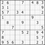 Easy Sudoku Puzzles To Print Free Download Featured Sudoku Puzzle To   Free Printable Sudoku
