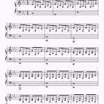Easy Verson Of Apologizeone Republic | How To Play Piano | Piano   Apologize Piano Sheet Music Free Printable
