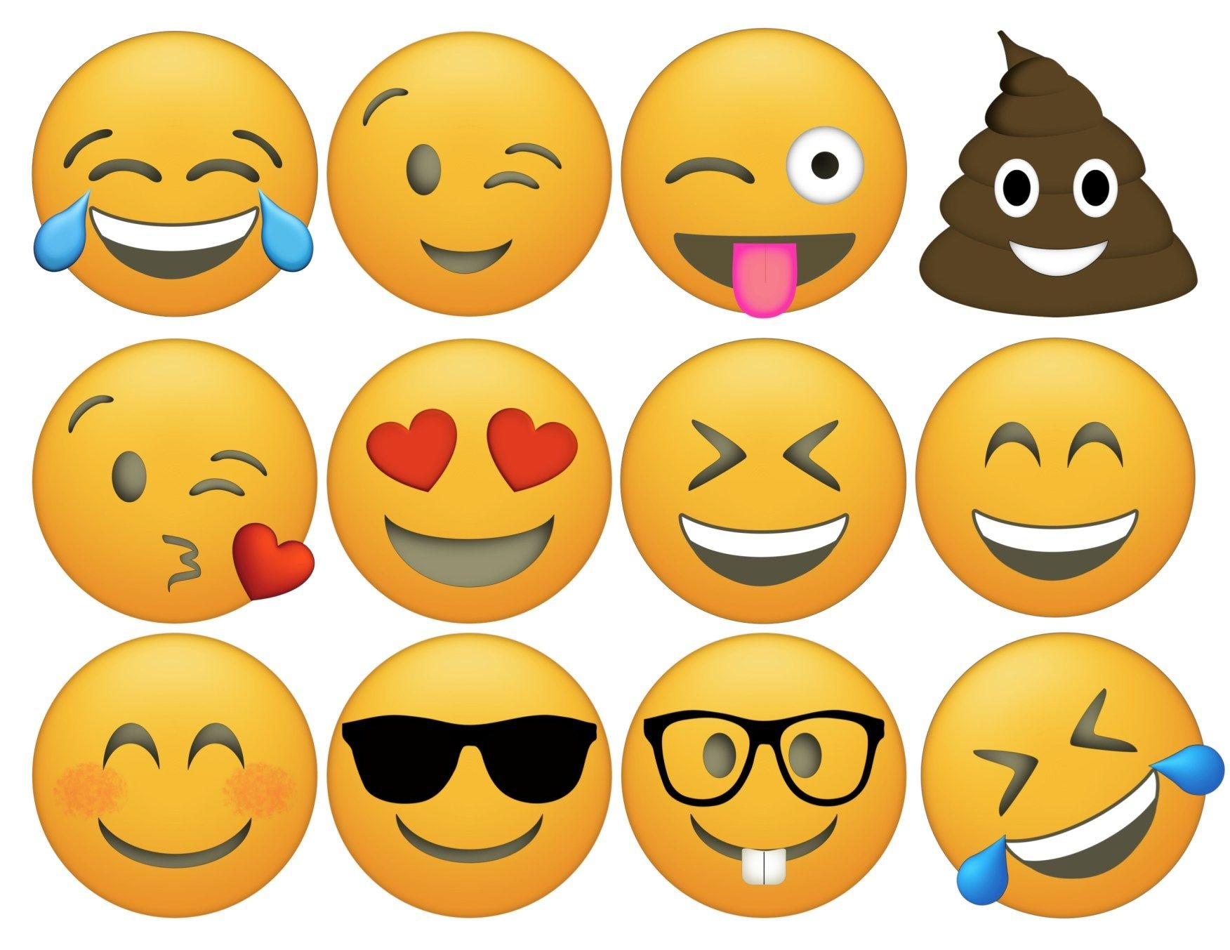 Emoji Cupcake Toppers Free Printable | Lydia | Emoji Cupcake Toppers - Free Printable Emoji Faces