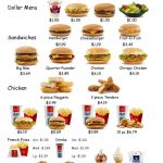 Empoweredthem: Fast Food Worksheet 1 | Learning Life Skills   Free Printable Menu Math Worksheets