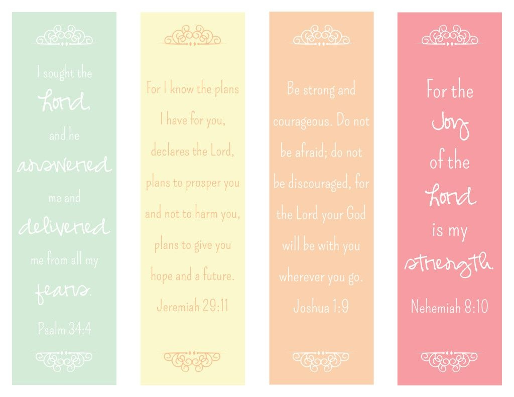 Encouraging Verses Bookmark - The Paper Vine … | Womens Retreat | Print… - Free Printable Bookmarks With Bible Verses