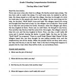 English Worksheets | Reading Worksheets   Free Printable 3Rd Grade Reading Worksheets