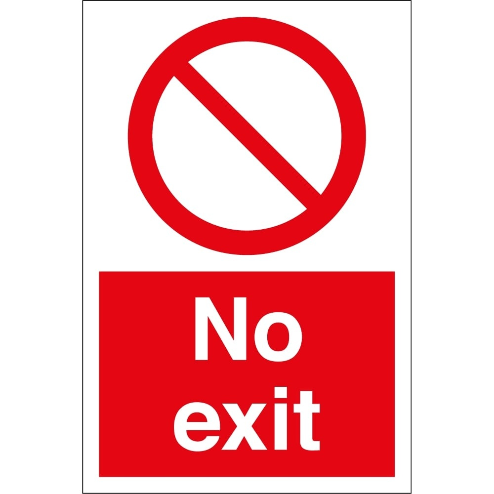 Exit Signs Pictures | Free Download Best Exit Signs Pictures On - Free Printable No Exit Signs