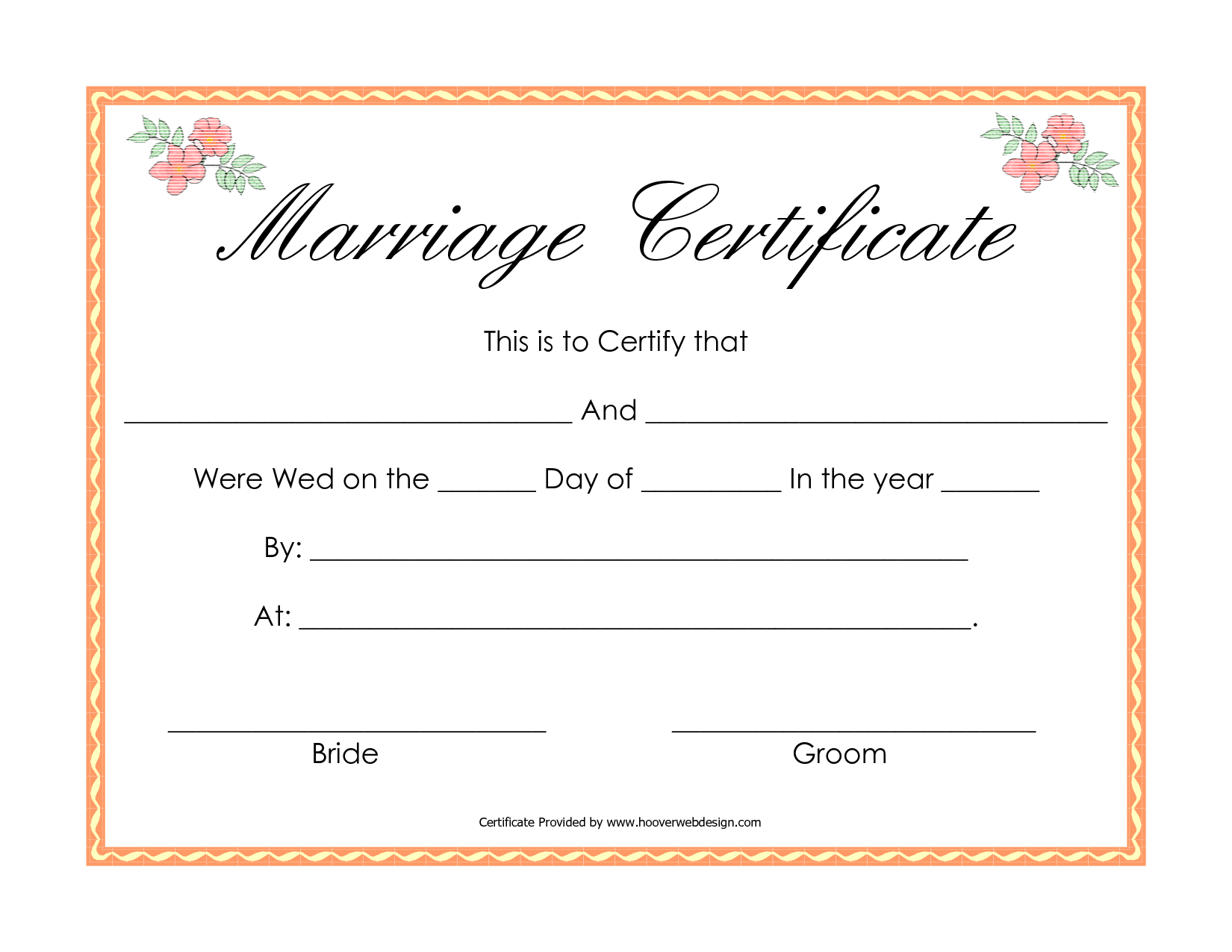 Fake Marriage Certificate | Angela | Marriage Certificate, Wedding - Fake Marriage Certificate Printable Free