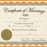 Fake Marriage Certificate Aws Certification Accounting   Fake Marriage Certificate Printable Free