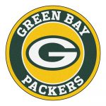 Fanmats Nfl Green Bay Packers Green 2 Ft. X 2 Ft. Round Area Rug   Free Printable Green Bay Packers Logo