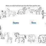 Farm And Zoo Animals Worksheet   Free Esl Printable Worksheets Made   Free Printable Zoo Worksheets