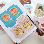 Fast & Fun Diy Vintage Mini Play Food Box Garland…with Free   Free Printable Play Food Labels