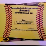 Fastpitch/softball Awards Certificate.   Softball   Fastpitch   Free Printable Softball Award Certificates