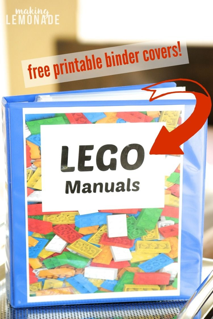 Finally A Great Way To Organize Lego Manuals! Love This Organization - Free Printable Lego Instructions