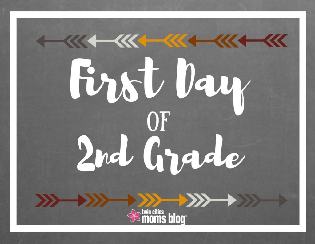 First Day Of School Signs: Free Printable - First Day Of Second Grade Free Printable Sign