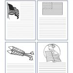 Fourth Of July Ideas: Free Printables   Writing Paper And More   Free Printable Patriotic Writing Paper