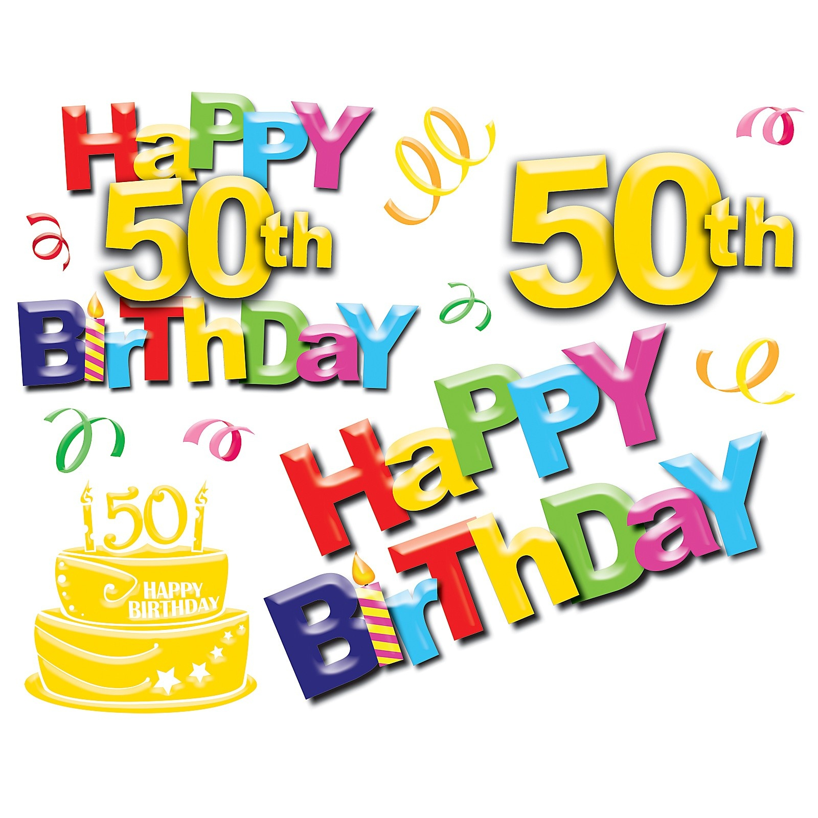 Free 50 Birthday Cliparts, Download Free Clip Art, Free Clip Art On - Birthday Clipart Free Printable
