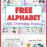 Free Alphabet Abc Printable Packs   Fun With Mama   Free Printable Alphabet Pages