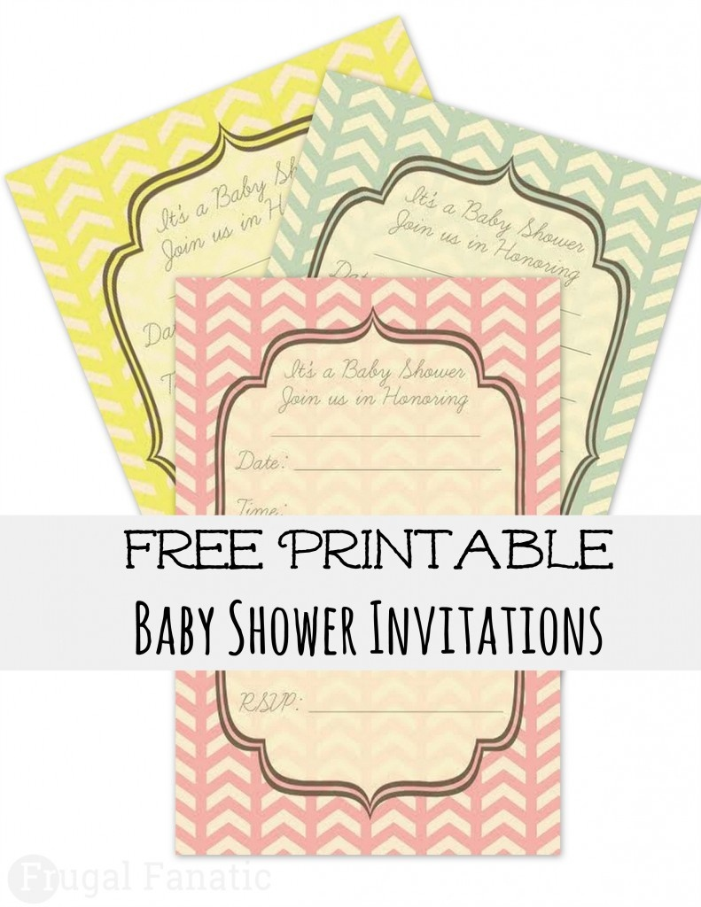 Free Baby Shower Invites - Frugal Fanatic - Free Printable Camo Baby Shower Invitations