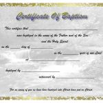 Free Baptism Certificate   Free Online Printable Baptism Certificates