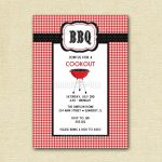 Free Bbq Invitation Templates   Free Printable Cookout Invitations