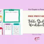 Free Bible Journal Key Worksheet – Bible Journal Love   Free Printable Bible Study Worksheets