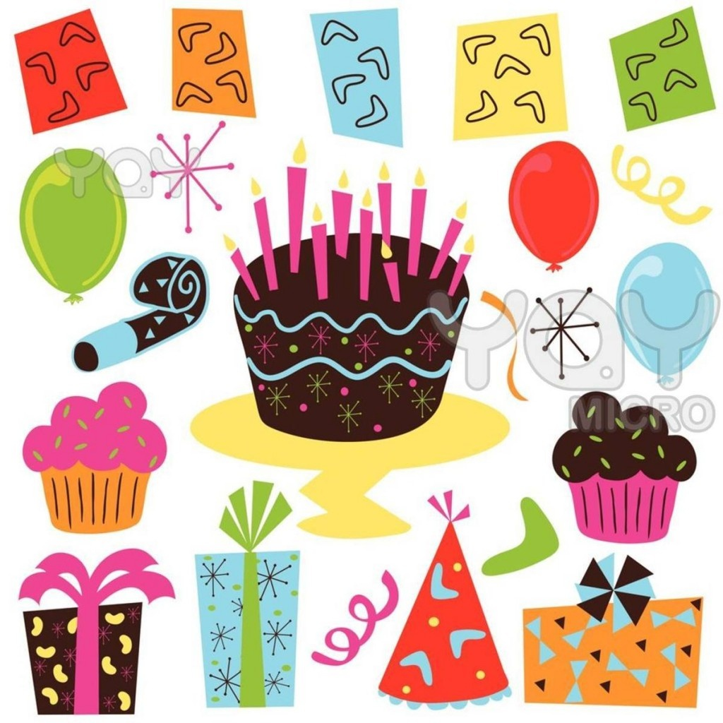 Free Birthday Art Cliparts, Download Free Clip Art, Free Clip Art On - Birthday Clipart Free Printable