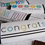 Free Candy Bar Wrapper Thank You (And Congrats) Printables! | Just   Free Candy Wrapper Printable