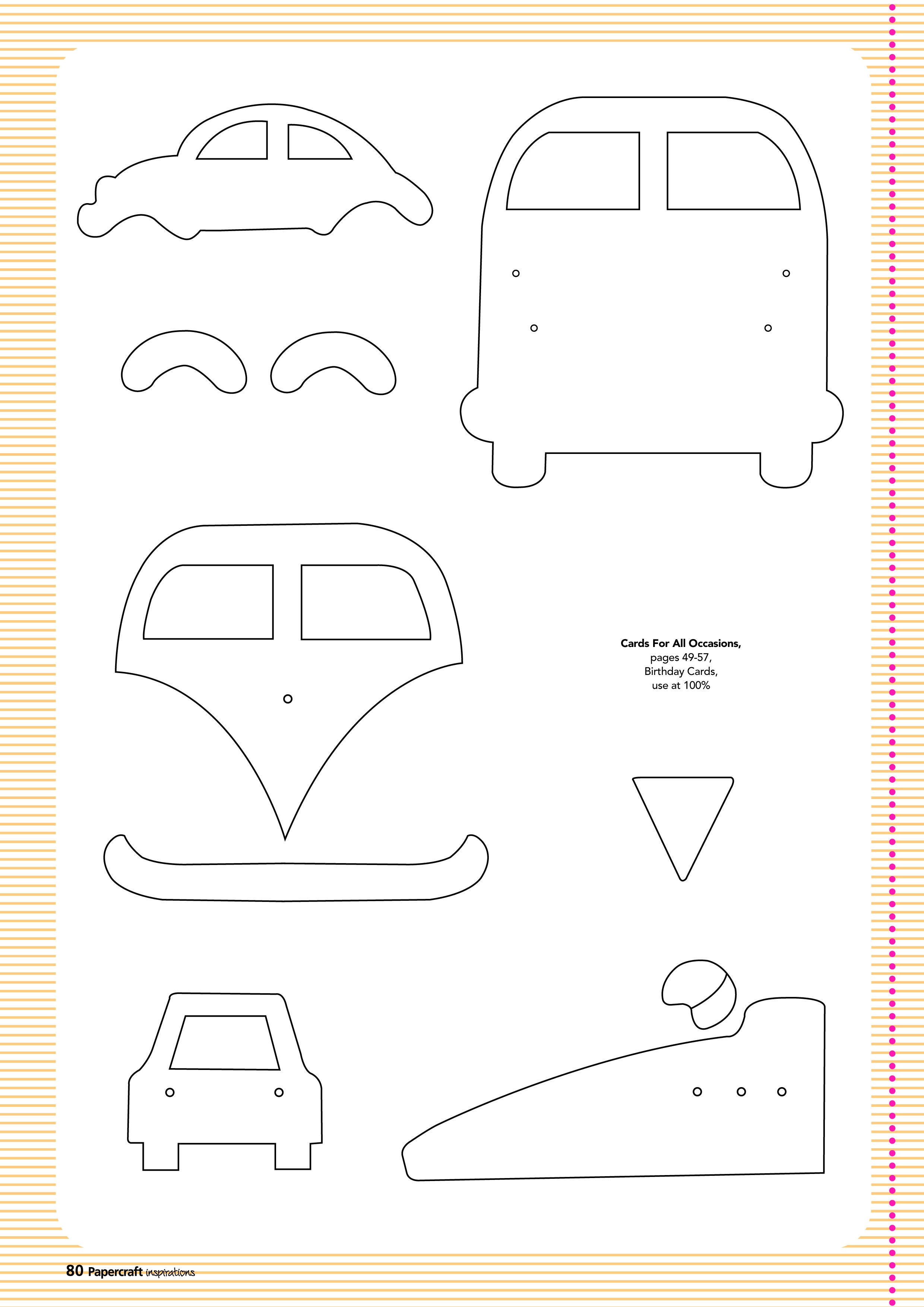 Free Card Making Templates From Papercraft Inspirations 123   Quiet - Free Card Making Templates Printable