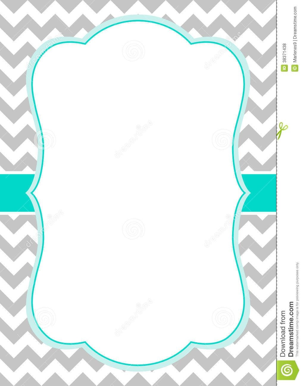 Free Chevron Border Templateadmin Admin | Baby Shower Ideas | Free - Chevron Pattern Printable Free