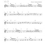 Free Christmas Clarinet Sheet Music   Go, Tell It On The Mountain   Free Printable Christmas Sheet Music For Clarinet