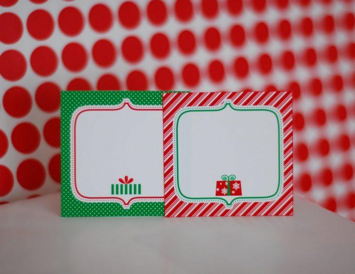 Free Printable Christmas Food Labels